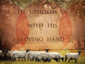 He upholds