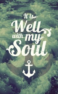 It is Well With My Soul Church Bulletin Cover
