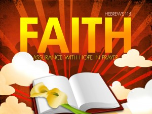 faith assurance in hope