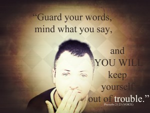 speak good words