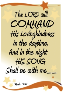 Lovingkindess and Song of the Lord