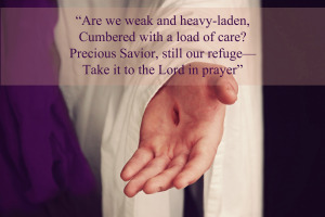 are we weak and heavy laden