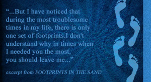 footprints in the sand Nov2014
