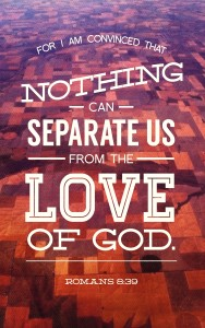 Nothing Can Separate Romans 8-39 Bulletin Cover