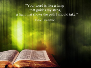 Your word is like a lamp