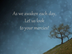 as we awaken
