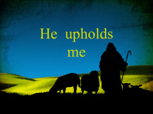 he upholds his sheep